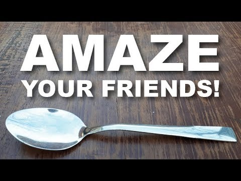 EASY Magic Trick with ANY Spoon! (Amazing Beginner Trick!)