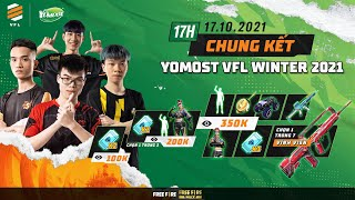 BTS vô địch đẳng cấp, HQ sẩy chân, HEAVY ngược dòng phút cuối   CHUNG KẾT YOMOST VFL WINTER 2021