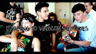 REACTING TO MAGCON MEMORIES
