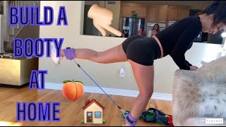 RESISTANCE BAND AT HOME BOOTY WORKOUT / BOOTY BANDS AND ANKLE BANDS