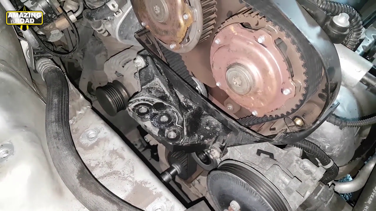 replacing the timing belt for opel astra h how to replace your [ 1280 x 720 Pixel ]