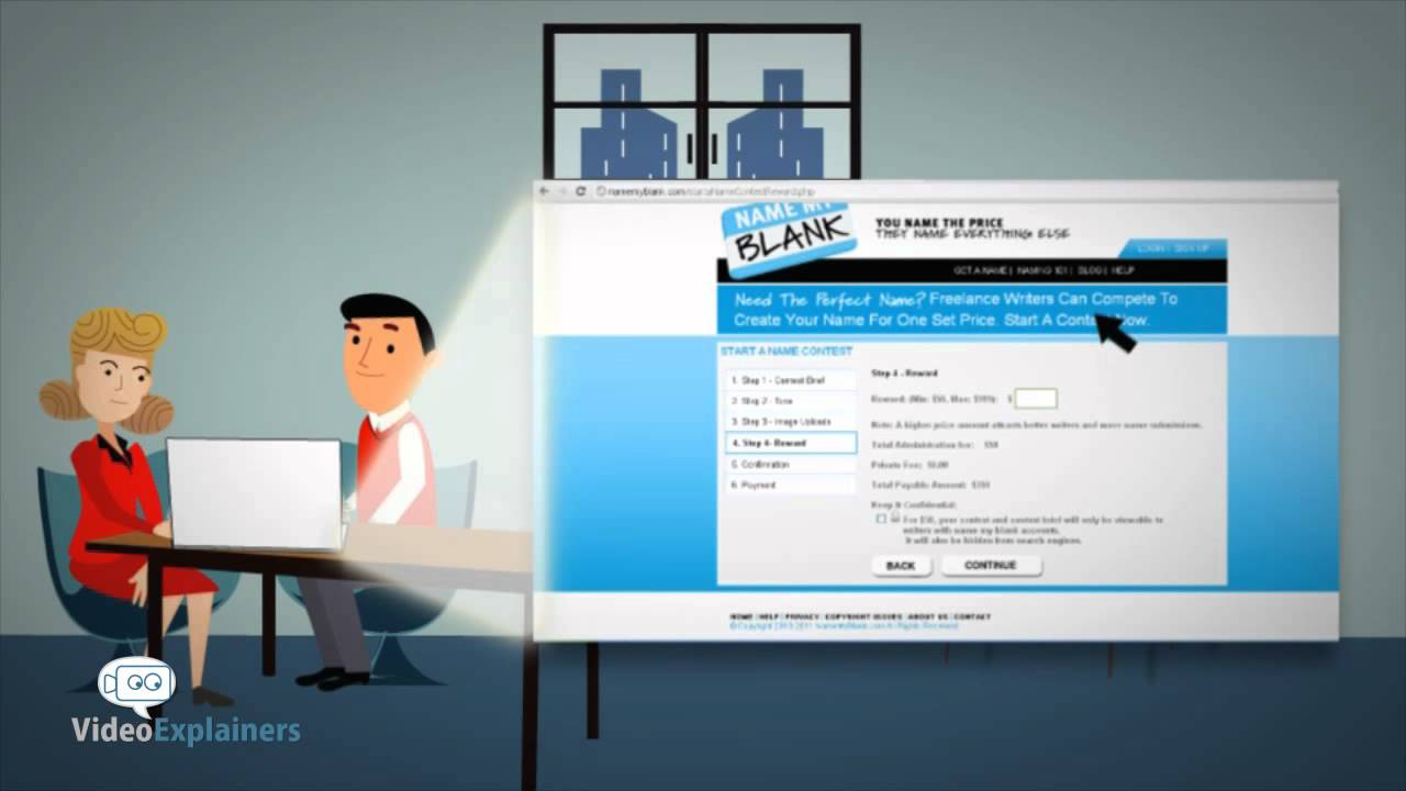 Animated Video Service For Business Name Generator