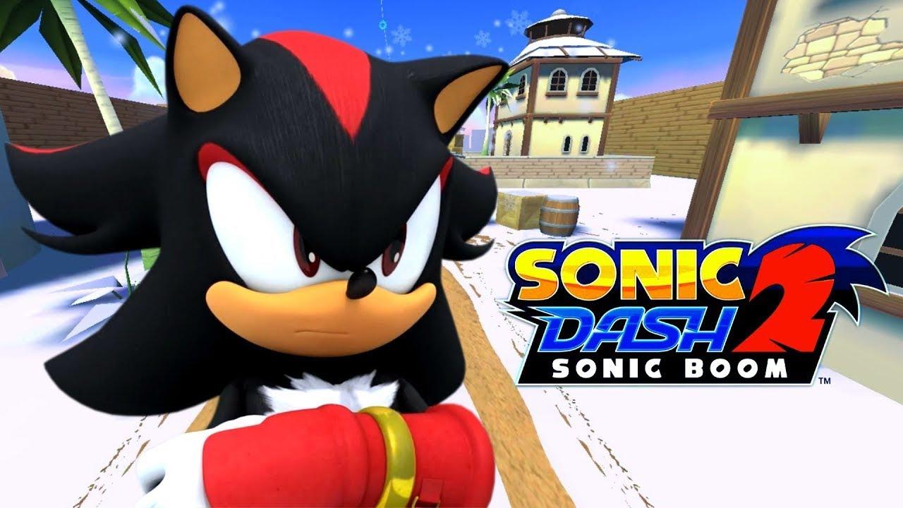 Sonic Boom Sonic Dash 2 - YouTube