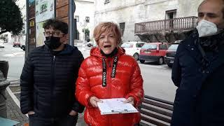Raccolta firme dem a Guglionesi contro il Pos di Toma
