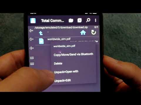 How To Open Zip Files On Android? - Extract Contents Of Zip File On Android Phone!
