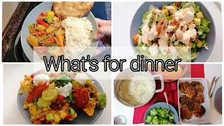 What's for dinner | Easy Family Meals On A Budget.