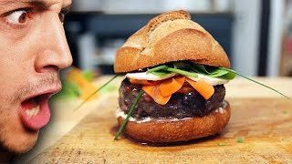 Ultimate French Burger : Beef Bourguignon !