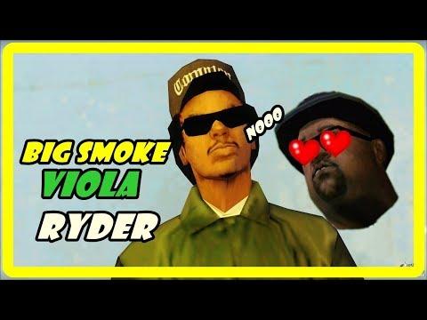 BIG SMOKE VIOLA A RYDER - GTA SAN ANDREAS LOQUENDO SIMPLY LOQUENDO