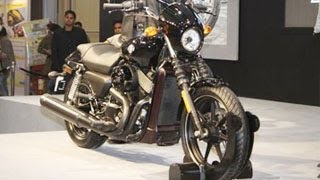 Harley Davidson Street 750 Launched At The 2014 Indian Auto Expo