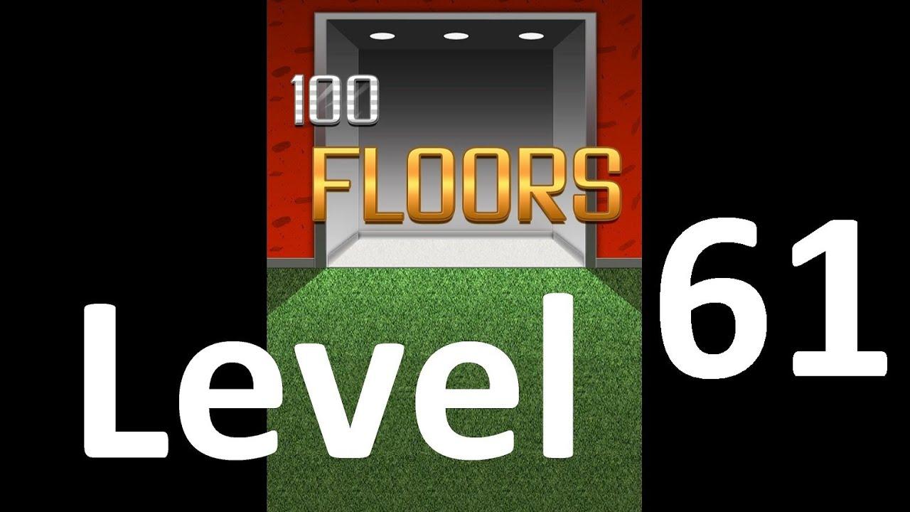 100 Floors Level 61 Solution Floor 61 Youtube