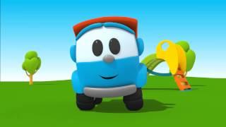 Leo Junior bir minibüs yapıyor - Eğitici çizgi film - Türkçe dublaj