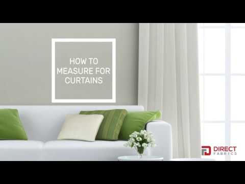 How to Measure for Curtains, Curtain Poles & Curtain Tracks