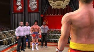 Rocky legends (PS2) Ivan Drago vs Rocky Balboa (Career Ivan Drago)