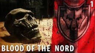 ( Прохождение модов в Скайриме)  Кровь Нордов Часть 1