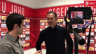 Interview mit Achim Beierlorzer vor Köln