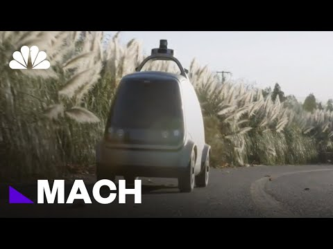 Autonomous Grocery Delivery Is Almost Here | Mach | NBC News