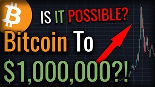 Is A $1,000,000 Bitcoin Even Possible? YES! Here's How - Bitcoin Price Prediction