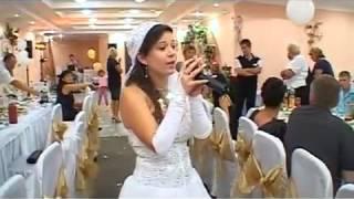 Свадебное видео - Дочь-невеста поет песню для папы свадьба