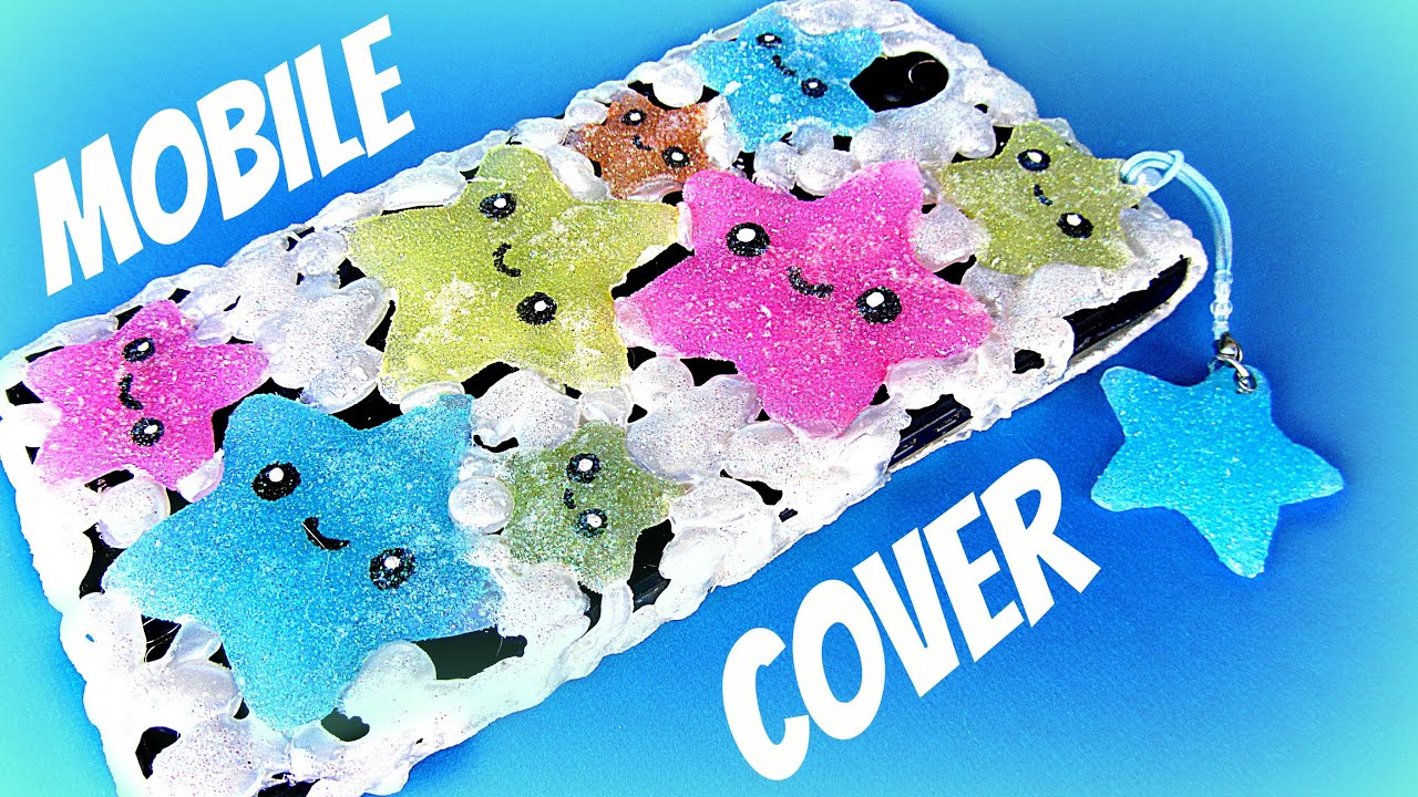 700900bfcba DIY Silicone mobile cover kawaii. - YouTube