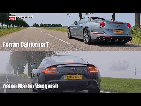 Ferrari California T vs Aston Martin Vanquish