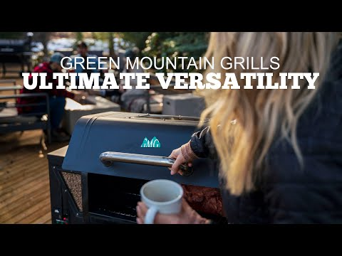 Green Mountain Grills | Ultimate Versatility