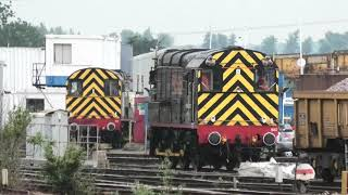 Eastleigh Yards, Depot And Freight Trains , 26-06-19