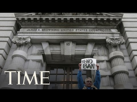 Court Of Appeals Hears Arguments Over Donald Trump's Travel Ban In Seattle | TIME