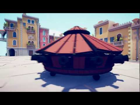 TABS   Da Vinci Tank VS Every Unit! Renaissance Update