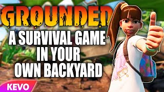 Grounded: a survival game in your own backyard