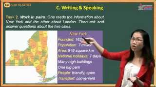 Bài tập tiếng Anh 10 - Unit 15. Cities - Speaking And Writing
