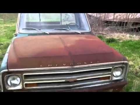 Chevy 4L60E Transmission Sale >> 68 chevy c10 barn find - YouTube