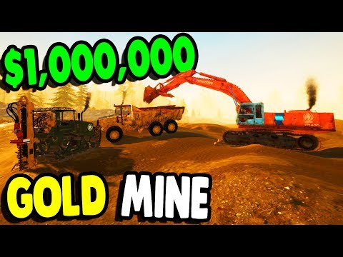 DRILLING $1,000,000 GOLD NUGGETS & NEW MINE | Gold Rush Gameplay