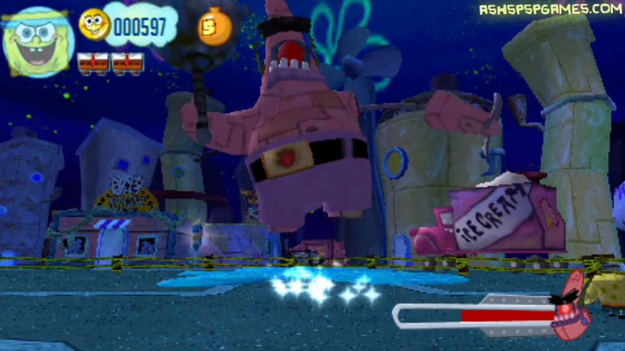 spongebob truth or square video game