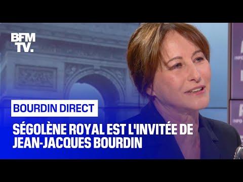 Ségolène Royal Face à Jean-Jacques Bourdin En Direct