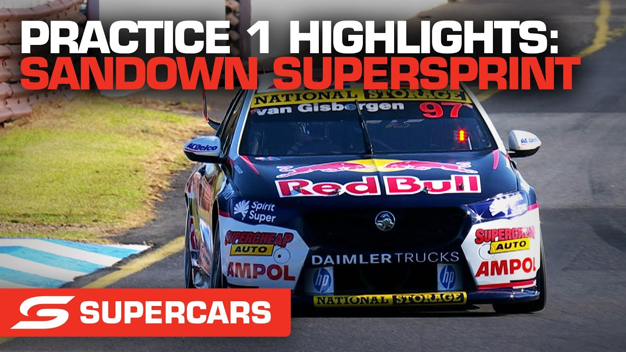 Practice 1 Highlights - Penrite Oil Sandown SuperSprint | Supercars 2021