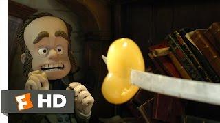 The Pirates! Band of Misfits (2/10) Movie CLIP - Attacking Charles Darwin (2012) HD