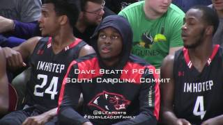 South Carolina Commit Dave Beatty 17 Pts In Season Opener VS Reading (raw files)