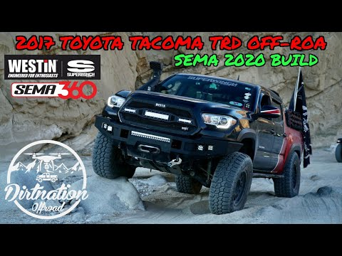 Dirtnation's Tacoma is being featured in SEMA 2020! 2017 Tacoma Build Breakdown