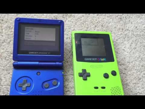 Gameboy Color Vs. GBA SP