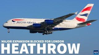 London Heathrow Expansion Major Update