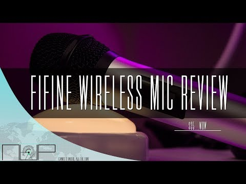 $35 Wireless Mic That's GOOD?! Fifine 25 Channel UHF Review