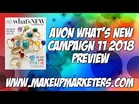 Avon Campaign 11 2018 Whats New