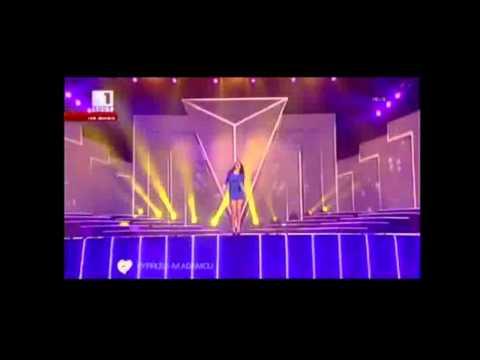 Ivi Adamou - La La Love (Live Performance at Bulgarian National Final)