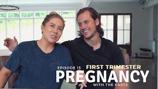 how your body changes during pregnancy *first trimester* | the east family