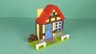 """LEGO House Building Instructions - LEGO Classic 11005 """"How To"""""""