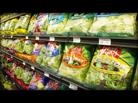 SICK NASTY!!!! WALMART CUSTOMERS ARE FREAKING AFTER WHAT THEY JUST FOUND IN PACKAGED SALADS!!!