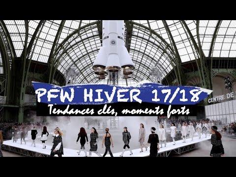 Paris Fashion Week Automne-Hiver 2017/2018 : tendances clés et moments forts