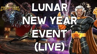 Lunar New Year Event Live - Marvel Contest Of Champions