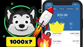 how to buy Aidi Inu token fast on trust wallet✅