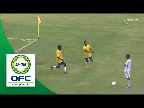 2018 OFC U-16 CHAMPIONSHIP - SOLOMON ISLANDS v VANUATU Match Highlights